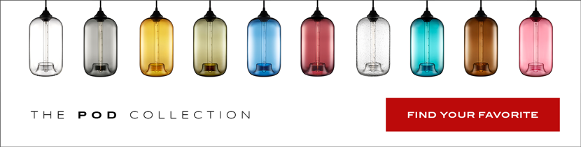 Pod Modern Pendant Lighting New Colorways