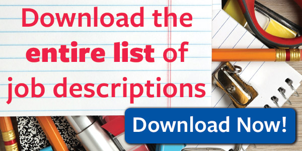 Job Descriptions Guide Download