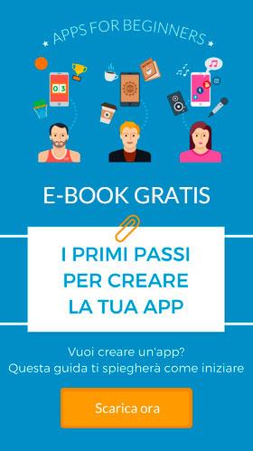 I primi passi per creare la tua app Free E-book