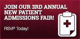 New Patients Admissions Fair