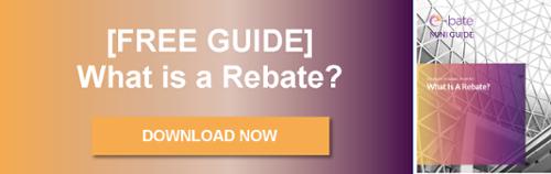What is a rebate