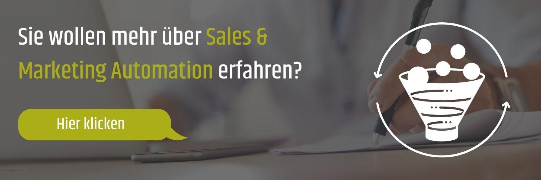 Sie wollen mehr über Sales & Marketing Automation erfahren?