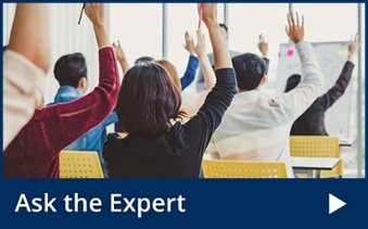 Ask the Expert Blog Button