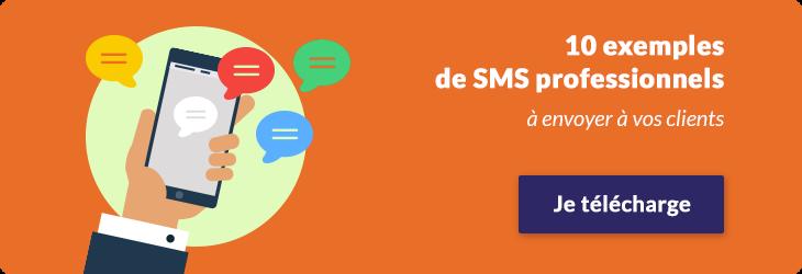 10 exemples de SMS professionnels