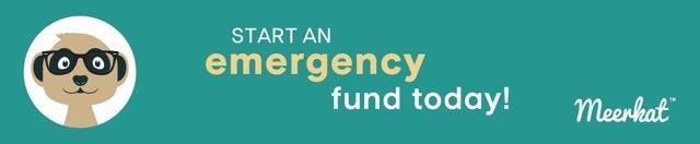 Start an emergency fund today