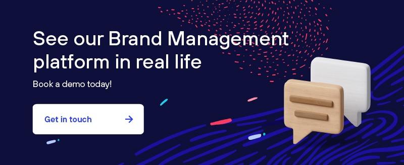 Brand Management platform company - Book a demo