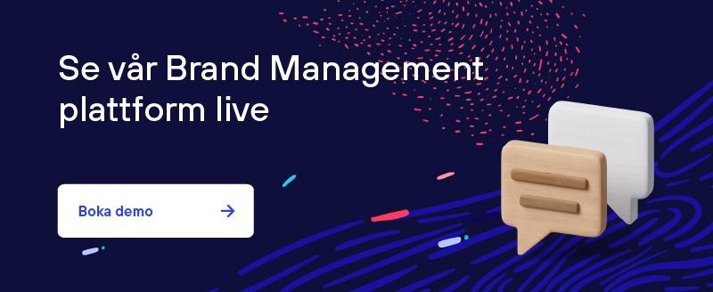 Se brand management plattform live, boka demo