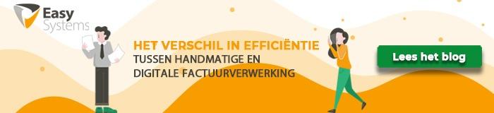 cta blog verschil in efficiëntie handmatige en digitale factuurverwerking