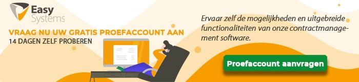 proefaccount contractmanagement aanvragen