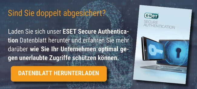 Datenblatt ESET ESA Downloaden