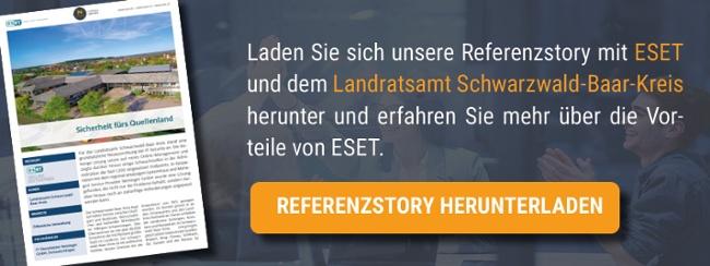 Referenzstory mit ESET und dem Landratsamt Schwarzwald-Baar-Kreis