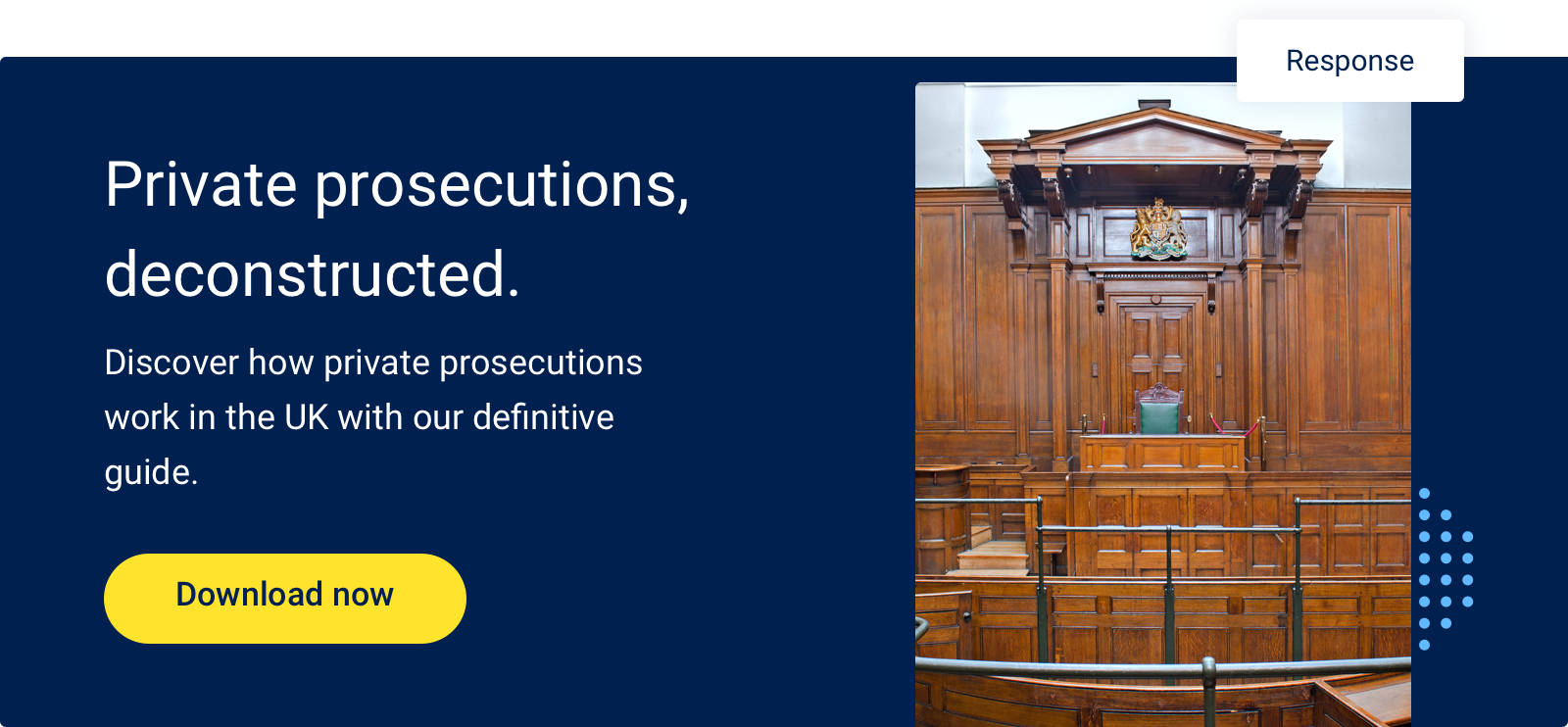 How Do Private Prosecutions Work CTA