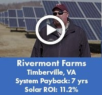 Rivermont Farms in Timberville, VA - Solar Case Study