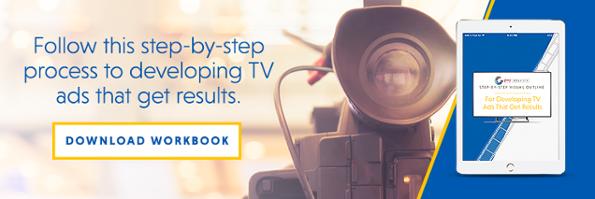 Step-by-Step Visual Outline for Developing TV Ads That Get Results CTA
