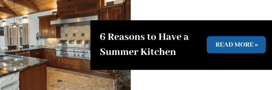 6 Reasons to Have a Summer Kitchen in your Florida Outdoor Living Space, Read More