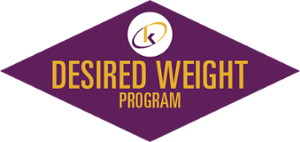 Set your target weight goal and reach it with our Desired Weight Program!