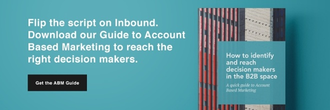 Free Guide to Account Based Marketing