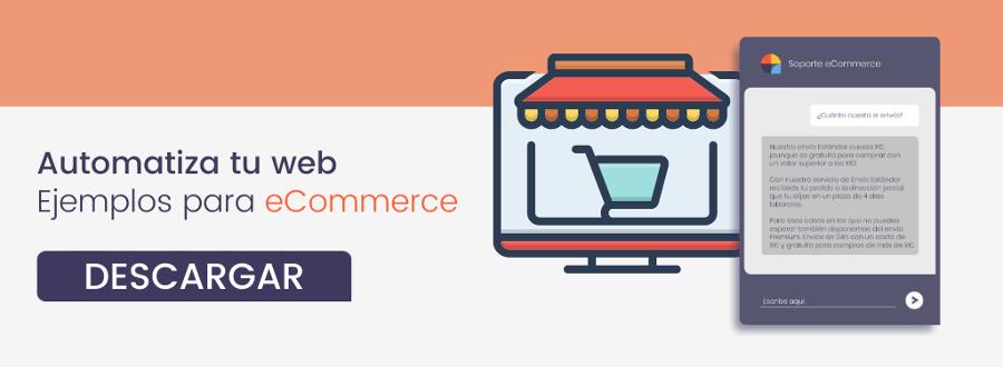 Descarga gratis la plantilla: Chatbot para eCommerce