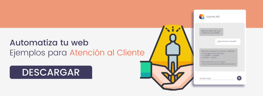 Descarga gratis la plantilla: Chatbot para Atención al Cliente