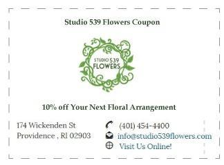 studio 539 flowers