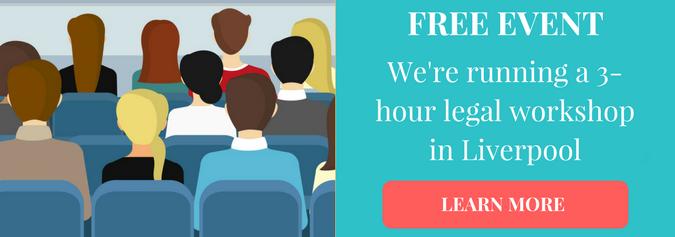 register for your free tickets to our 3-hour workshop in liverpool