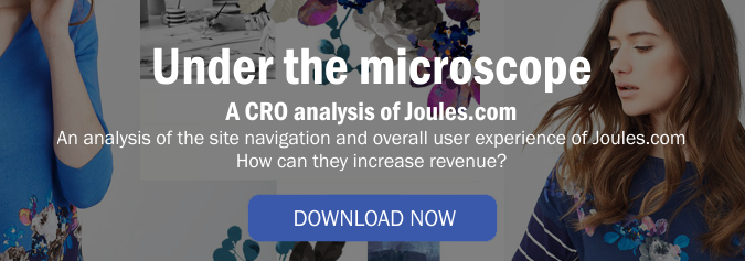 A CRO analysis of Joules.com