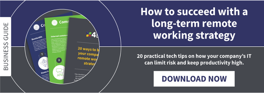 Remote working guide - 20 tips for your company's IT