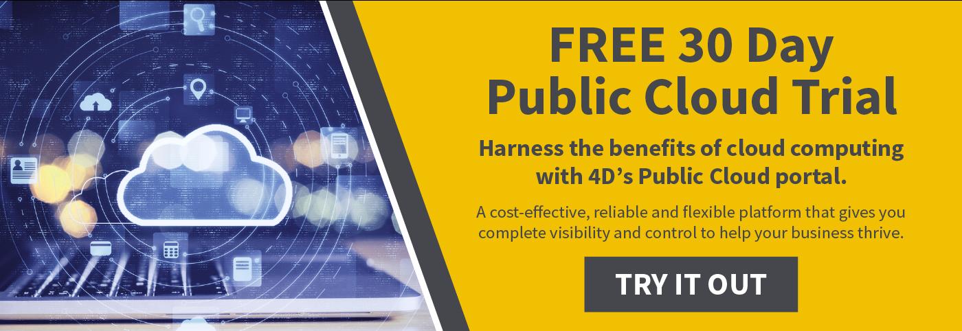 Free cloud trial public cloud platform test