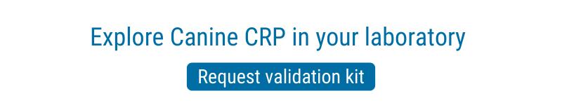 Canine CRP vaildation kit