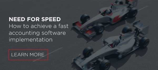 how to achieve a fast accounting software implementation | Gravity Software