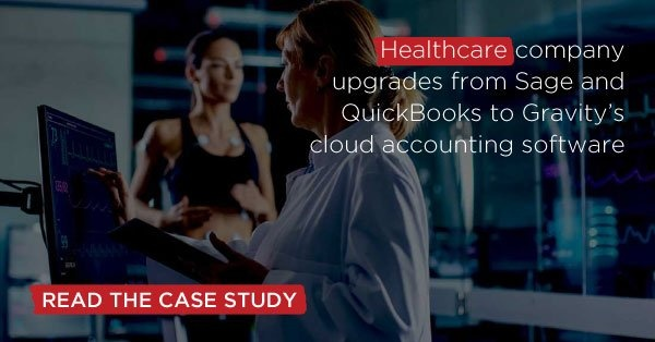 Healthcare company grows | Case Study | Gravity Software