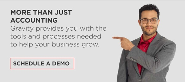 Schedule a demo with Gravity Software