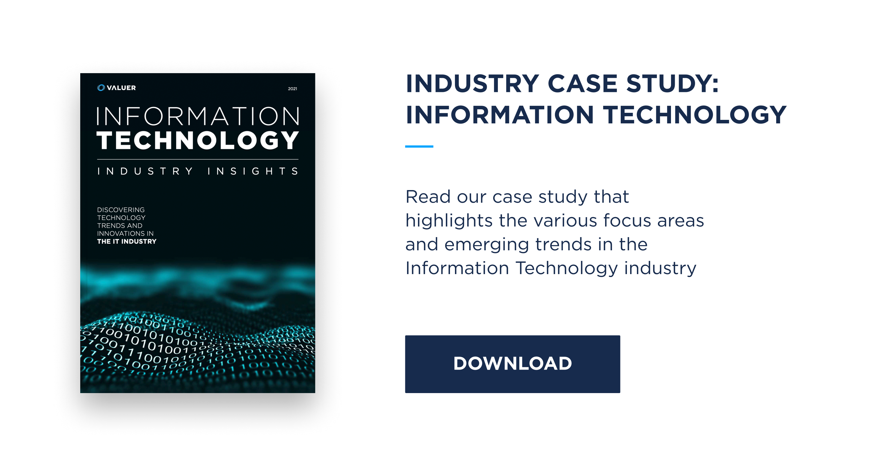 information technology case study with image of code