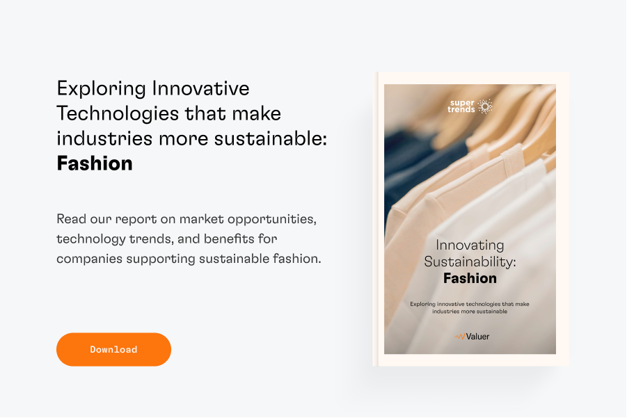 Download Innovating Sustainability: Fashion report