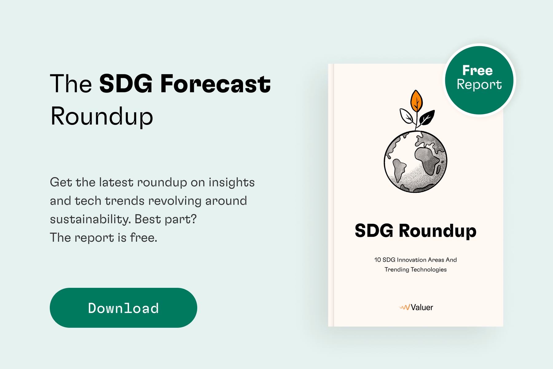 Download SDG Forecast Roundup