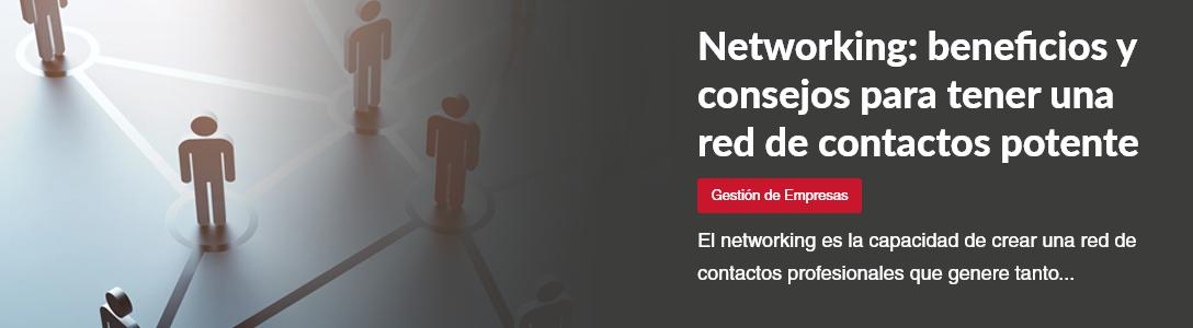 networking beneficios y consejos para tener una red de contactos potente