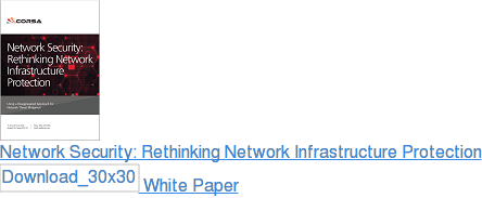 DDoS Protection: Rethinking Network Infrastructure Security White Paper