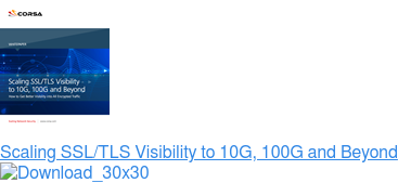 Scaling SSL/TLS Visibility to 10G, 100G and Beyond