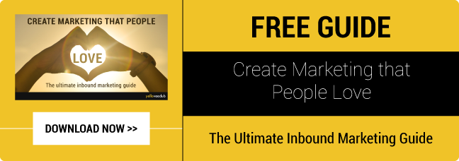 Download your free ebook on how to create marketing that people love. The ultimate guide to inbound marketing