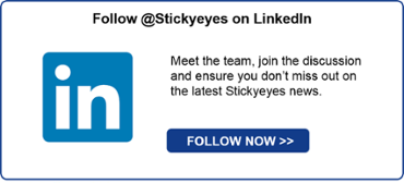 Follow Stickyeyes on Linked In