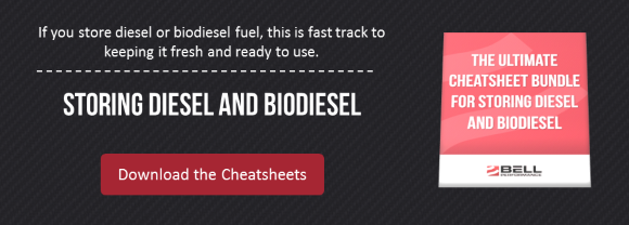 Storing Diesel and Biodiesel Cheatsheet Bundle