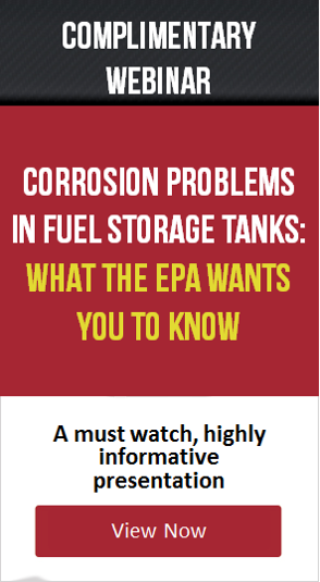 Corrosion Problems in Fuel Storage Tanks Webinar