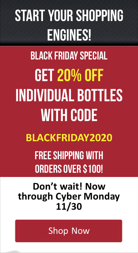 Use Code BLACKFRIDAY2020 - Save 20% on all orders