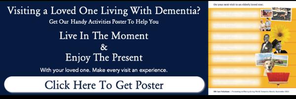 Dementia Activity Poster