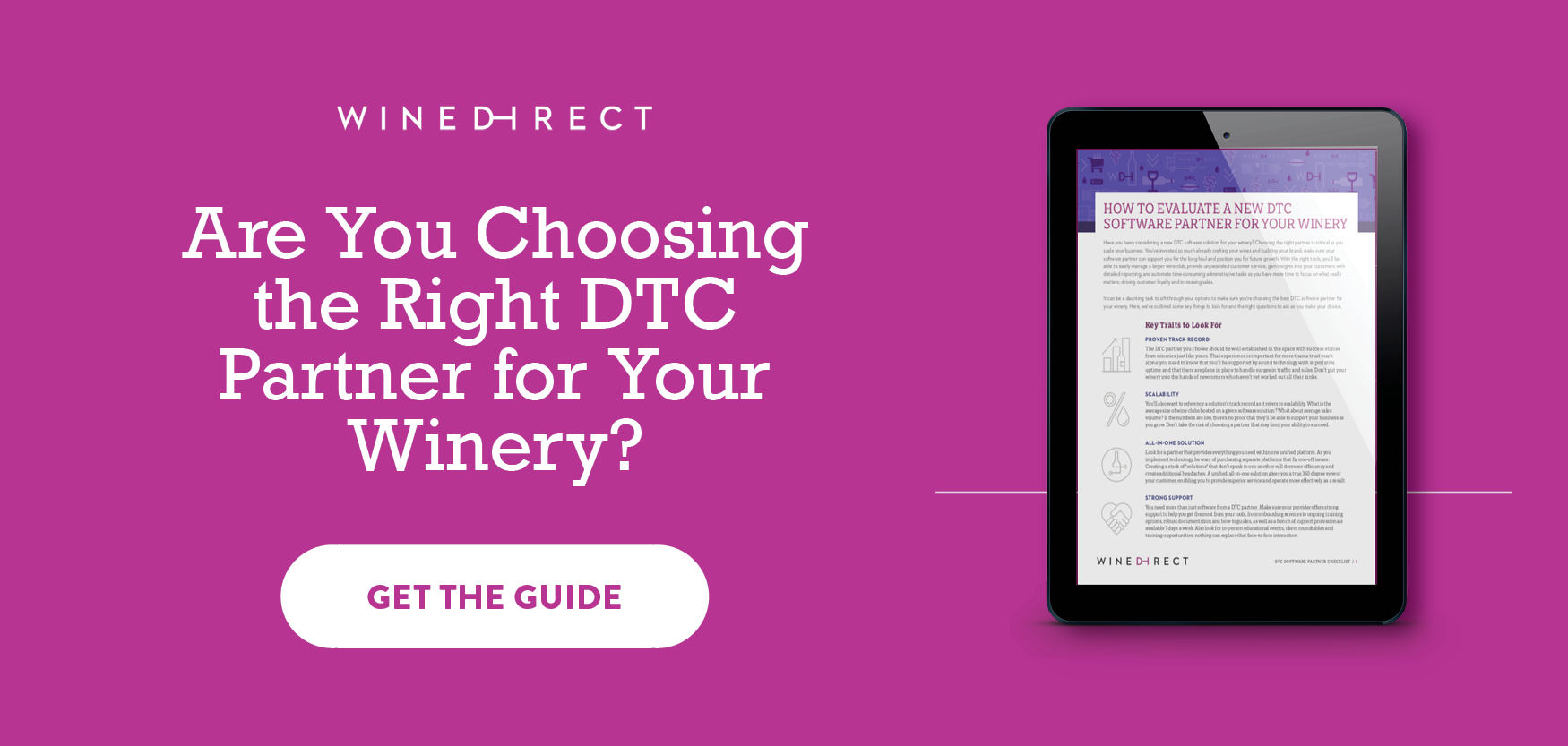 Are You Choosing the Right DTC Partner for Your Winery?