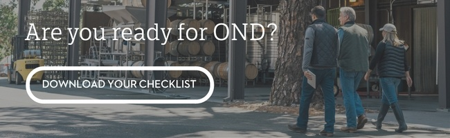 Download our OND Checklist today to keep your team on track.