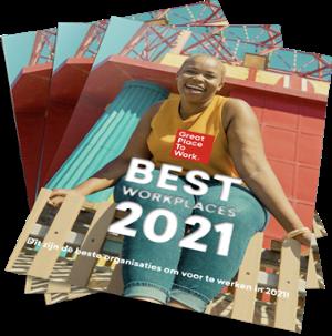 Best Workplaces magazine 2021