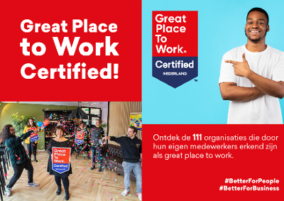 Great Place to Work Certified magazine