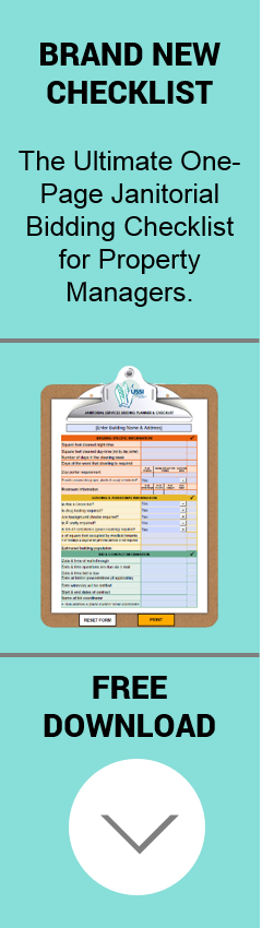 Download Free Janitorial Bidding Checklist