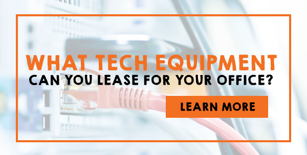 What Tech Equipment Can You Lease For Your Office
